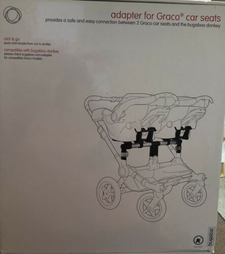 Bugaboo Donkey Graco Twin Car Seat Adapter 855180GC02