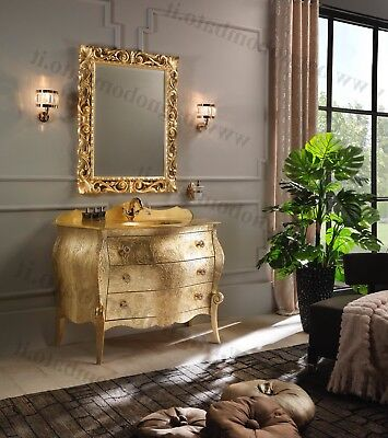 Mobile Bagno foglia oro al prezzo migliore | Offerte opinioni ...