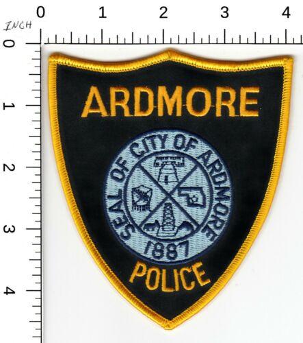 ARDMORE POLICE SHOULDER PATCH OKLAHOMA OK