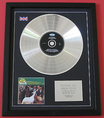 THE BEACH BOYS Pet Sounds CD / PLATINUM LP Disc Presentation