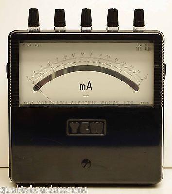 Yokogawa Dc Voltmeter 2011-33 Nice