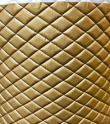 d metallic diamond Quilted fabric with 3/8