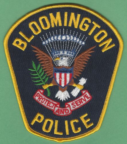 BLOOMINGTON MINNESOTA POLICE PATCH