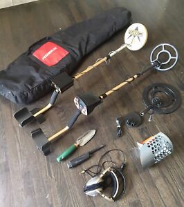 Metal Detector's Fisher 1212-x Fisher F2 w extra coils bag scoop
