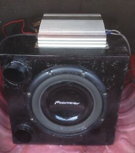 A  Nice Subwoofer for  Your trunk