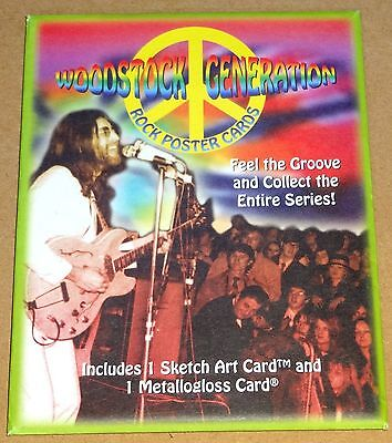 Woodstock Generation Classic 1960's Rock Posters 49 x Mint Large Card Base Set