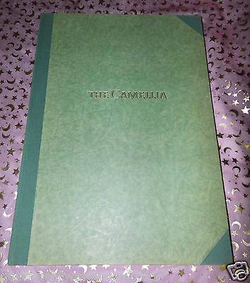 Großer Kunstband 1956 THE CAMILLIA, Englisch / Leslie Urquhart / Buch Rarität
