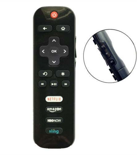 New Rc280 Led Hdtv Remote For Tcl Roku Tv With Sling Netflix 65us5800 55fs3750