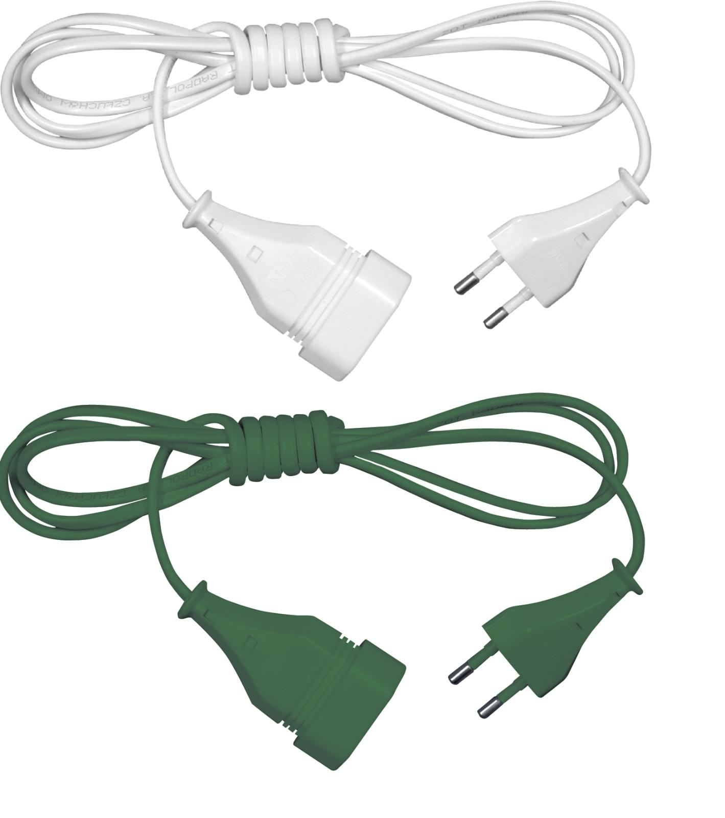 Verlängerungskabel 1,5m 3m 5m 10m Eurostecker Kabel Verlängerung Stromkabel IP20