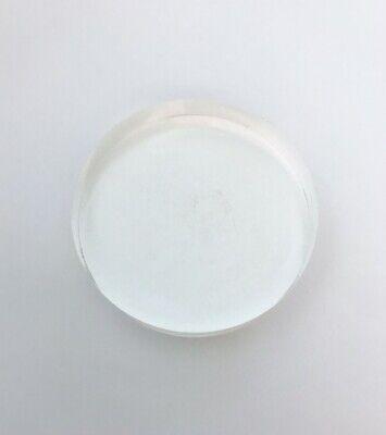 63x16 Plastic Scintillation Crystal Radiation Detector New Clear Crystal