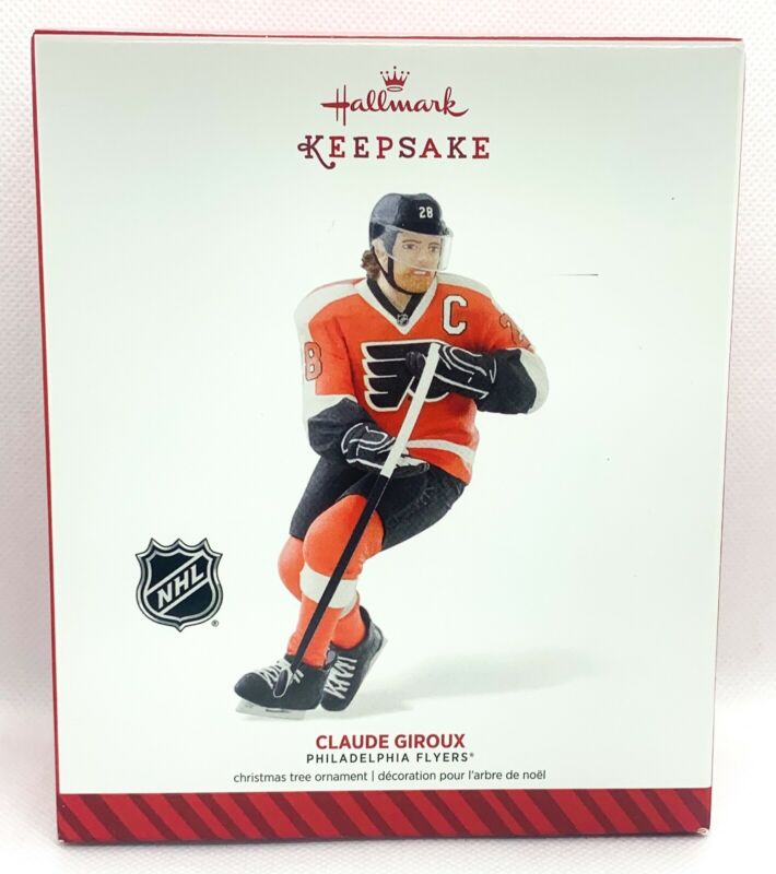 Hallmark Keepsake Philadelphia Flyers Claude Giroux Ornament 2014 NEW OLD STOCK