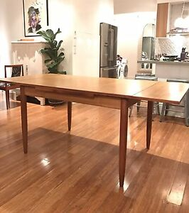 Retro vintage Midcentury dining table Parker CHISWELL Rozelle Leichhardt Area Preview