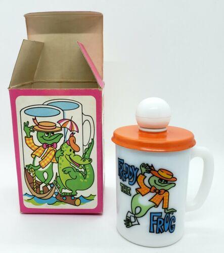 Vintage Avon Freddy The Frog Bubble Bath Mug With 5FL. OZ. Bubble Bath
