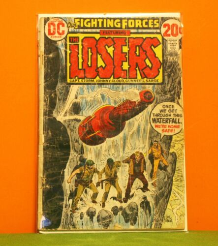 OUR FIGHTING FORCES THE LOSERS #143 - DC 1973 *BUY 1 COMIC GET 1 FREE +FREE SHIP