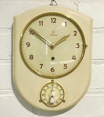 Vintage Junghans Kitchen Timer Wall Clock #1761
