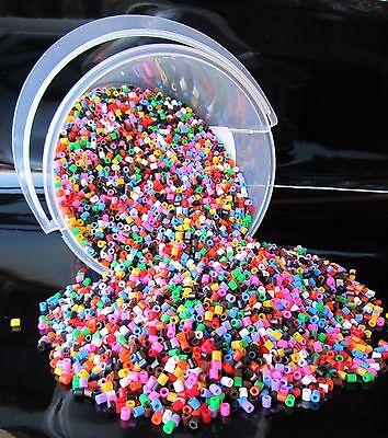 Bügelperlen Eimer mit 20 000 Perlen Top Kindergarten Qualität Fädelperlen 201104