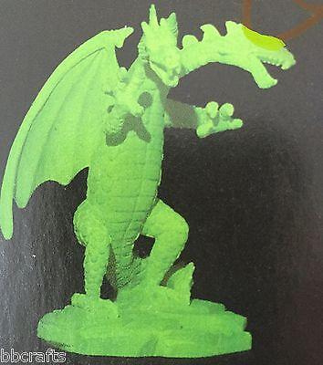 42 Dragon Head (NEW ALABASTRITE TWO HEADED DRAGON GLOW IN THE DARK STATUE COLLECTIBLE #42 )