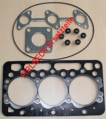 Filtersatz für Kubota K008 mit D722 Motor