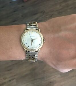 Swiss Winding vintage Wittnauer 10k gold filled 1958