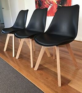 Ask Dining Chairs x3 Point Cook Wyndham Area Preview