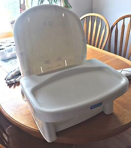 Chair with tray.
