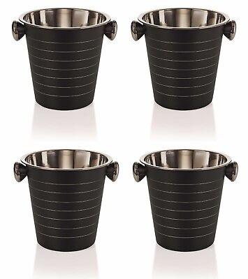 4 Stück Flaschenkühler, Weinkühler, Sektkühler, 21,5 cm Ø, 4,5 Liter Inhalt