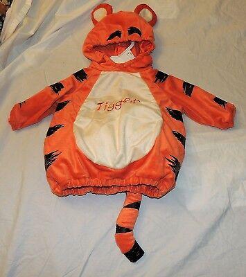 Neu Disney Baby Tigger Kostüm 3-6 Monate Winnie Puuh Christopher Robin