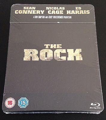 The Rock Blu Ray Steelbook Play Com Uk Exclusive Ltd Ed Region Free New Oop Rare