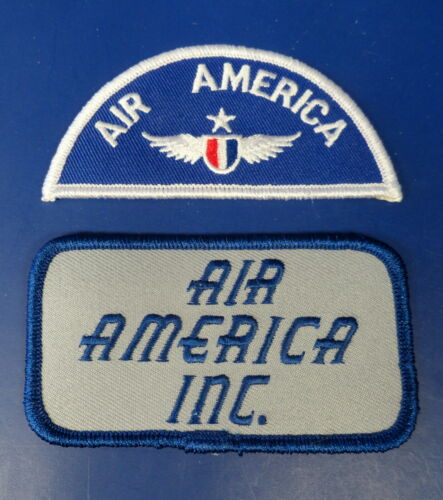 AIR AMERICA FLYING SUIT PATCHES
