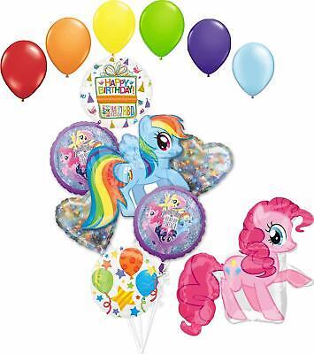 My Little Pony Birthday Party Supplies Pinkie Pie and Rainbow Dash Adventure ...