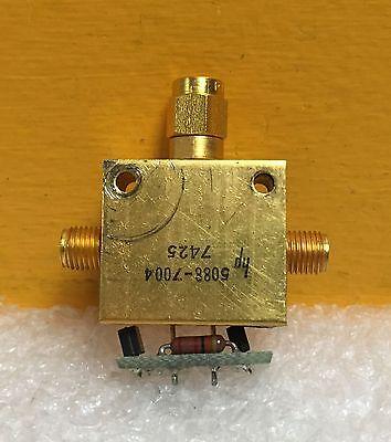 Hp 5088-7004 Rf Mixer Sampler Assy. Sma M-f-f For 5340a Counter Etc.