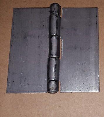 18 .120 Steel Butt Hinge 4 X 4 Heavy Duty Doorcabinetweld Ondiy 1146