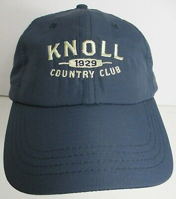 472a6f27f9017 Knoll Country Club Hat Cap USA Embroidery Golf Boonton New Jersey Unisex