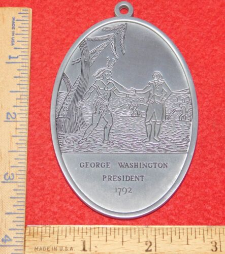 Reproduction 1792 George Washington Peace Medal....Buy It Now!!