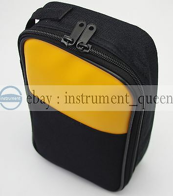 Soft Casebag For Fluke Multimeters Hioki Sanwa Kyoritsu Victor Uni-t Ut61e