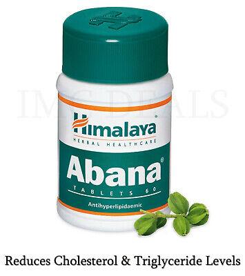 Himalaya Abana Antihyperlipidaemic Reduces Cholesterol & Triglyceride 60 Tablets