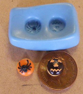 1:12 Scala Riutilizzabile Gomma Silicone Halloween Ciambelle Stampo Tumdee Casa