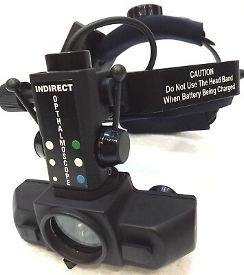 Free Expedited Shipping Indirect Ophthalmoscope With Accessories
