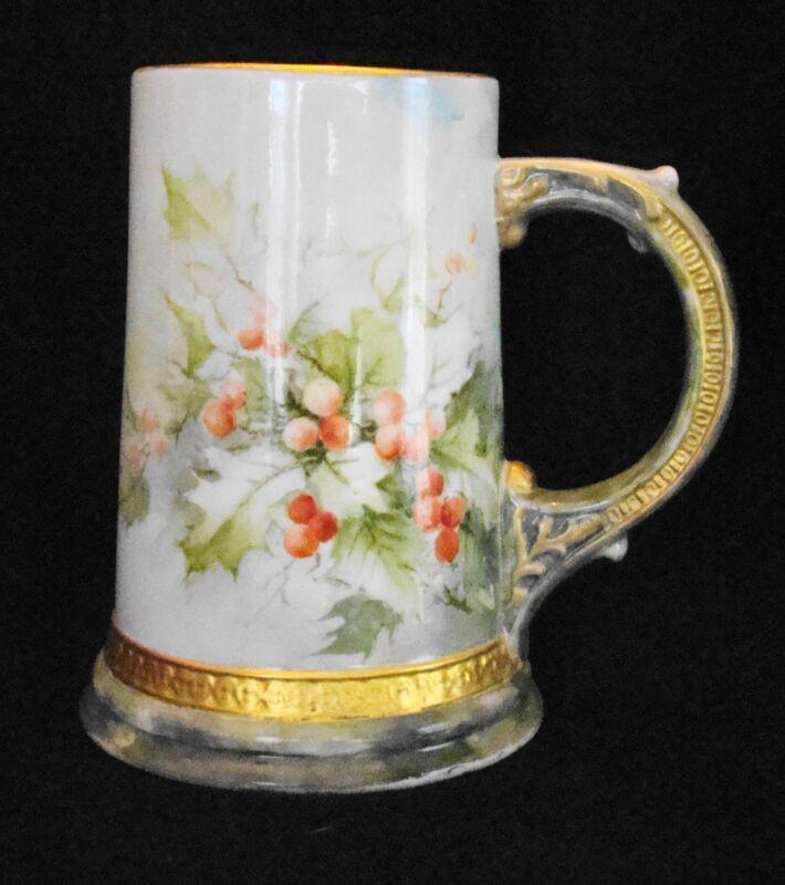 Ceramic Art Compant American Belleek Porcelain Tankard Mug Stein 1889-1906