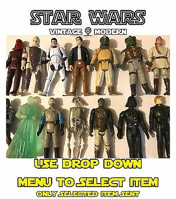 Vintage & Modern Star Wars Figures & Vehicles : Hasbro - Kenner - Used Toys