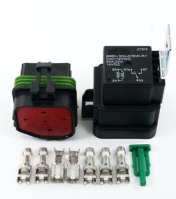Delphi 5030 Amps Weatherproof Automotive Relay Socket Kit