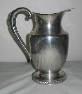 1940's LARGE HECWORTH REPRODUCTION OLD SHEFFIELD WATER JUG