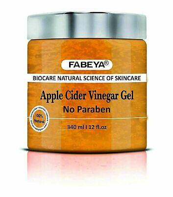 FABEYA Biocare Natural Vinagre de Sidra Manzana Orgánico Gel para Cada Tipo...