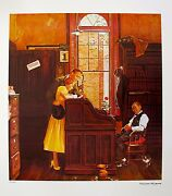 Norman Rockwell Signed Prints