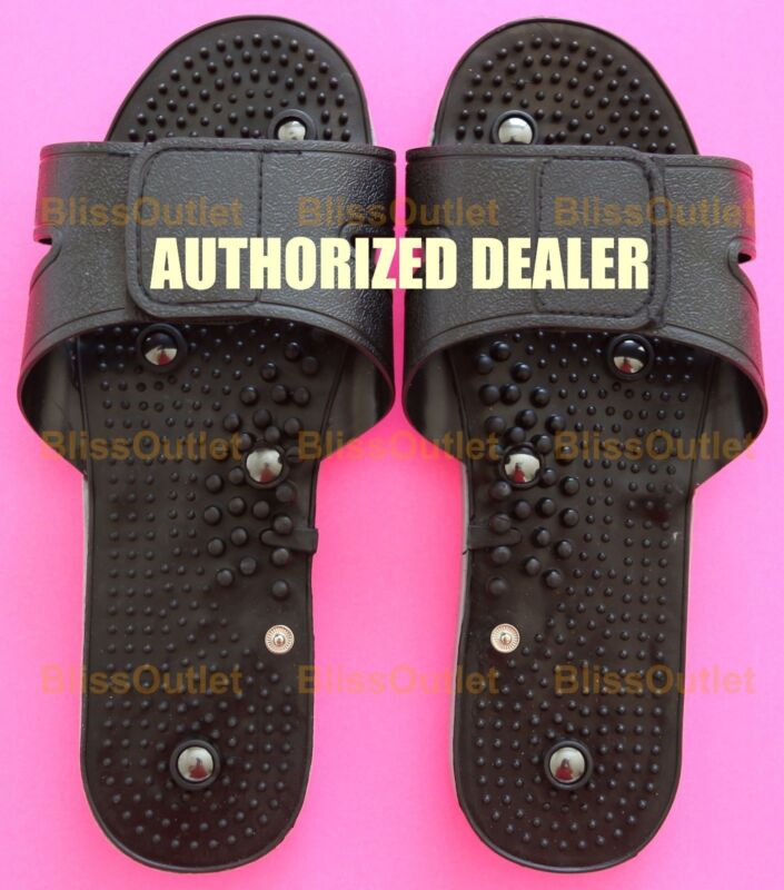 TENS EMS Unit Slippers Shoes for Diabetic Therapy Electric Pulse Mini Massager