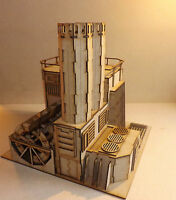 Hydrocarbon Power Plant Warhammer 40 Wargame Infinity Scenery Wargaming Building - wargame-model-mods - ebay.co.uk