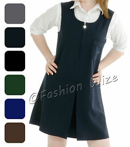 Girls-School-Pinafore-Dress-Age-2-3-4-5-6-7-8-9-10-11-12-13-14-15-16-17-18-19-20