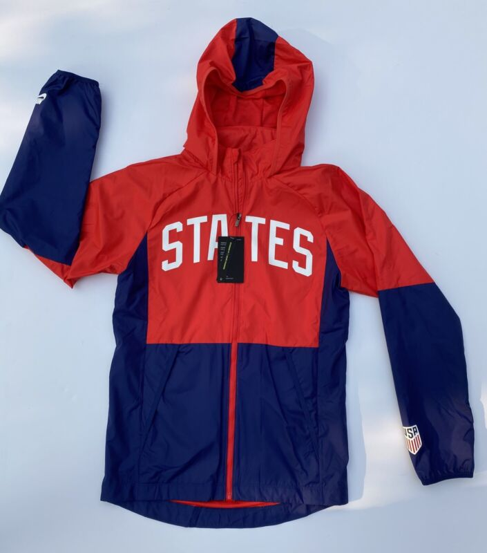 Nike State USA Jacket (CN7075-688) Size Mens Small