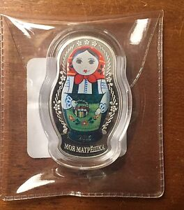 BNIB Mint Russian Nesting Doll Coin