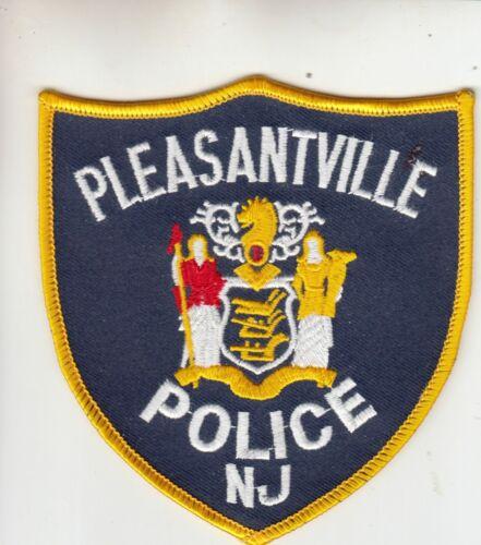 PLEASANTVILLE POLICE SHOULDER PATCH NEW JERSEY NJ